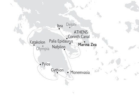 Map for Antiquity to Byzantium