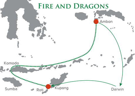 Map for Fire and Dragons