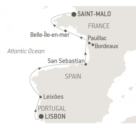 Map for Gastronomy, Vineyards & Grands Crus