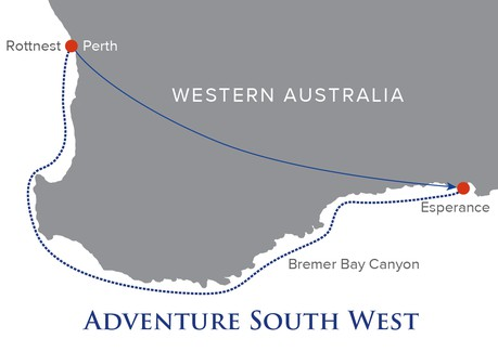 Map for Adventure South West