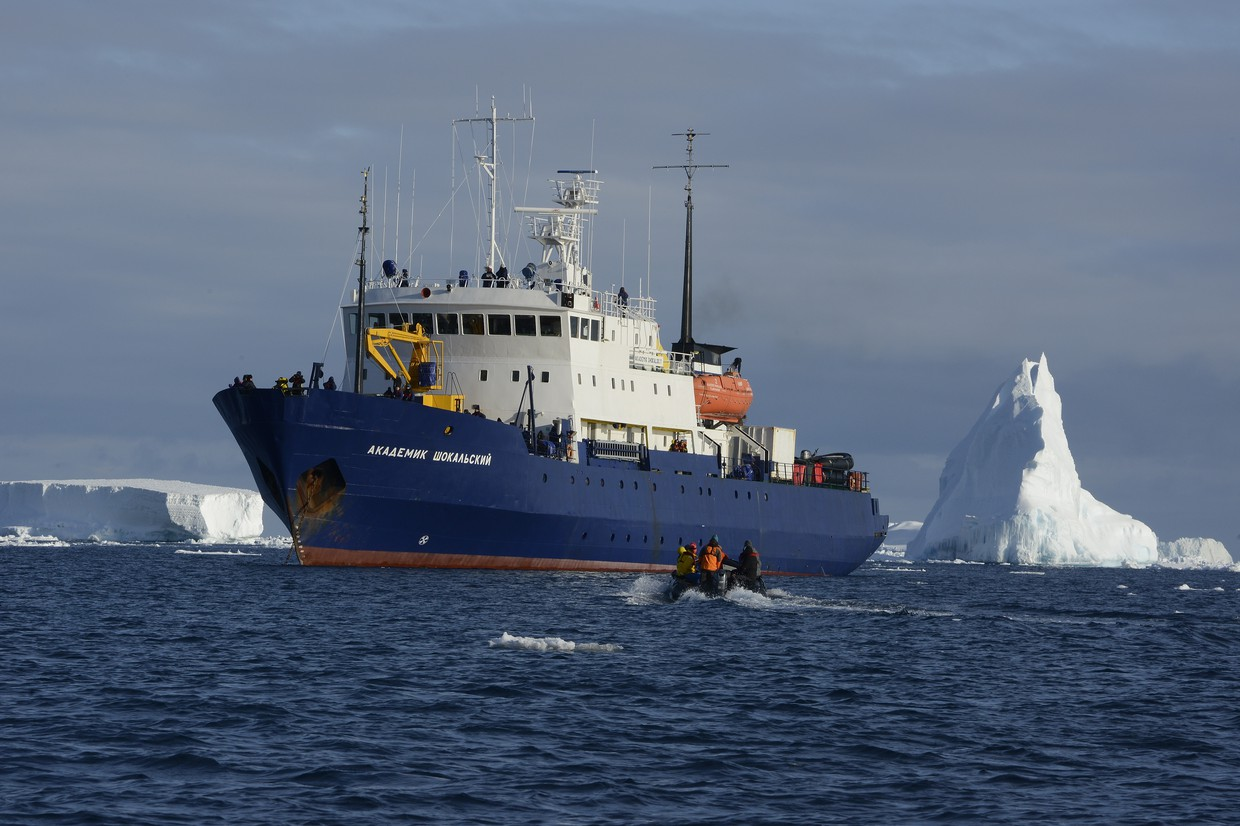 Ross Sea – In the Wake of Scott and Shackleton 2020 (Akademik Shokalskiy)