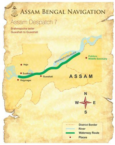 Map for Brahmaputra Taster (ABN Charaidew II)