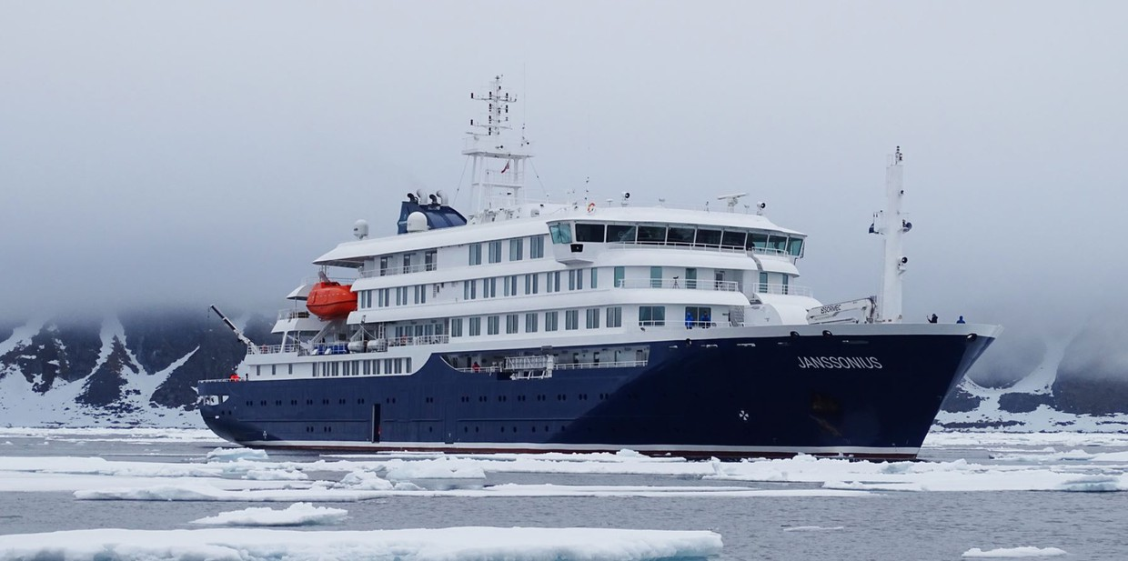 Atlantic Odyssey aboard Brand New Polar Ship Including Antarctic Peninsula