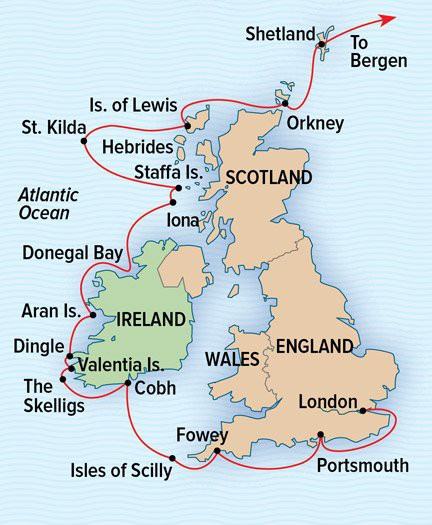 Map for Ancient Isles: England, Ireland, And Scotland