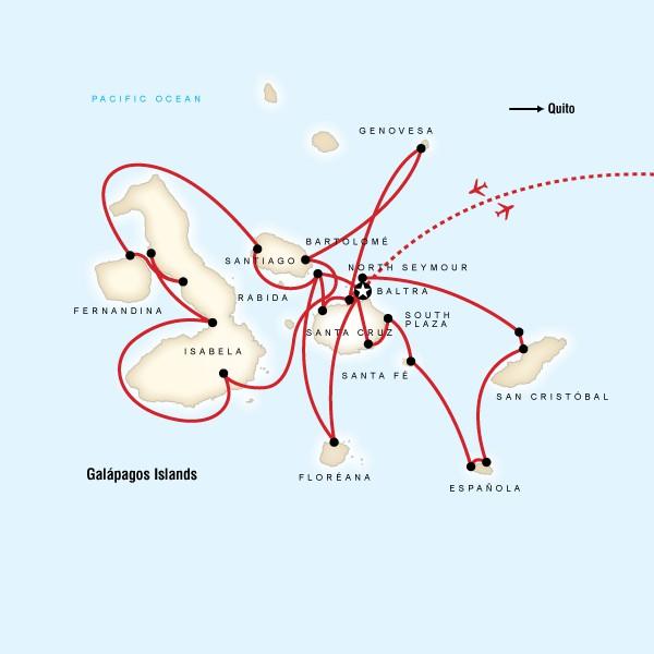 Map for Complete Galápagos (Yolita)