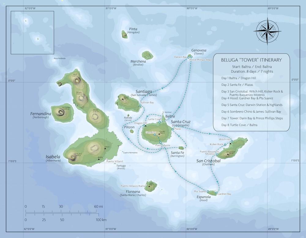 Map for Tower Cruise (Beluga)