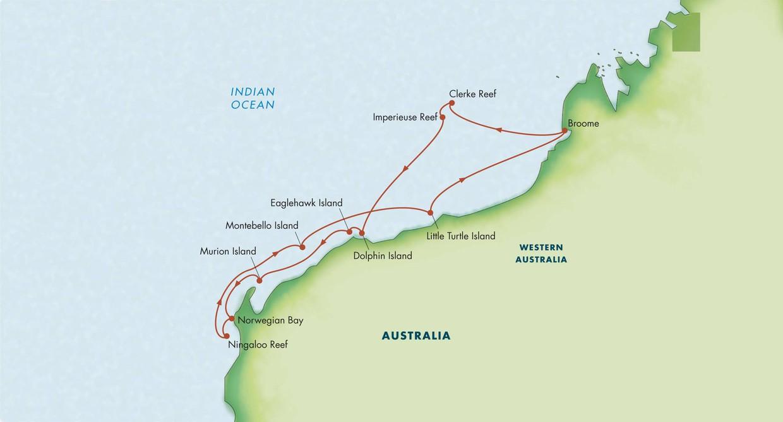 Australia Underwater Map.Underwater Wonders Of Western Australia