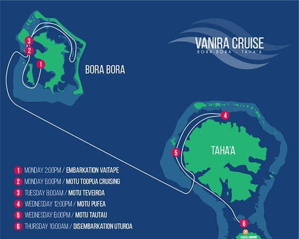 Map for Vanira Cruise