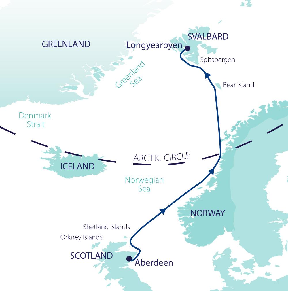 across the arctic circle scotland norway u0026 spitsbergen wild