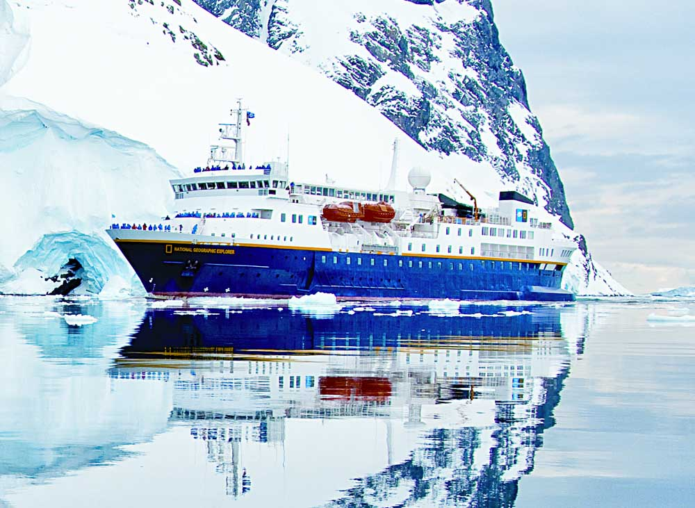 National Geographic Explorer, the ship servicing Exploring the British and Irish Isles
