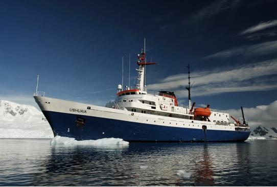 Ushuaia, the ship servicing Classic Antarctica 10 Days