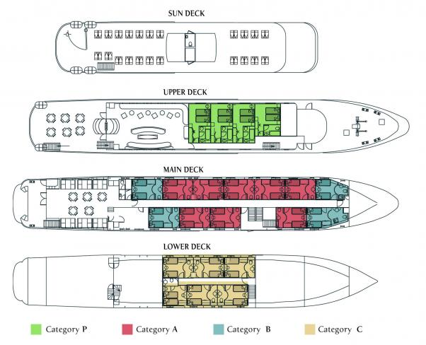 Cabin layout for Harmony G