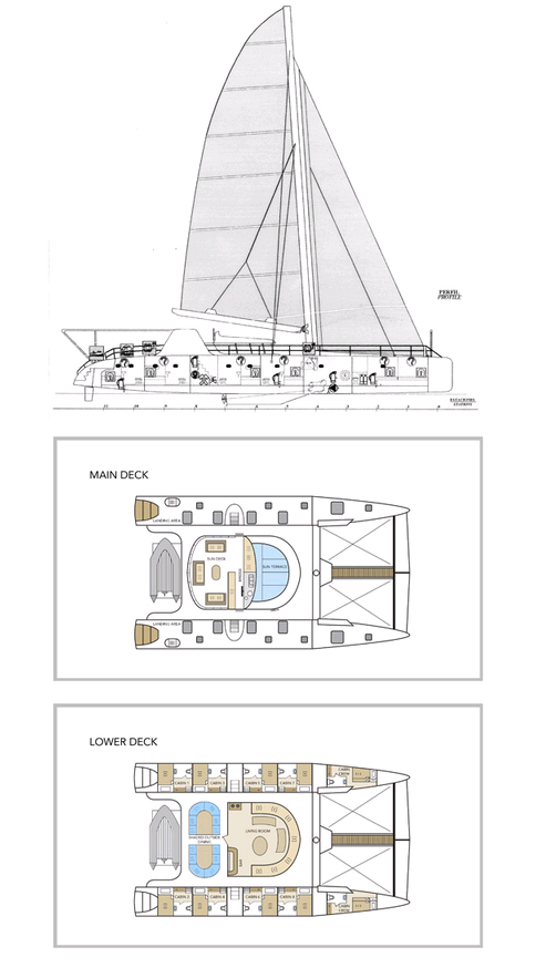 Cabin layout for Nemo I