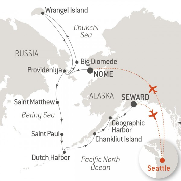 Map for Fire and Ice in the Arctic