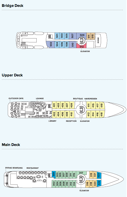 Cabin layout for Orion