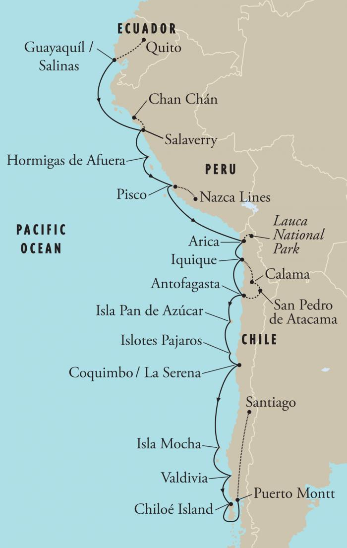 The West Coast Of South America  Lessons  Tes Teach