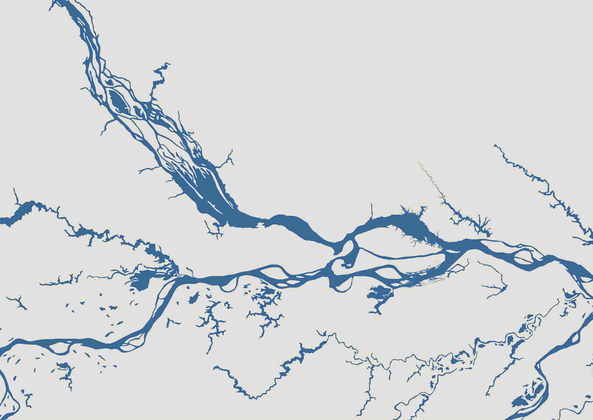Map for Grand Maguari Amazon Cruise