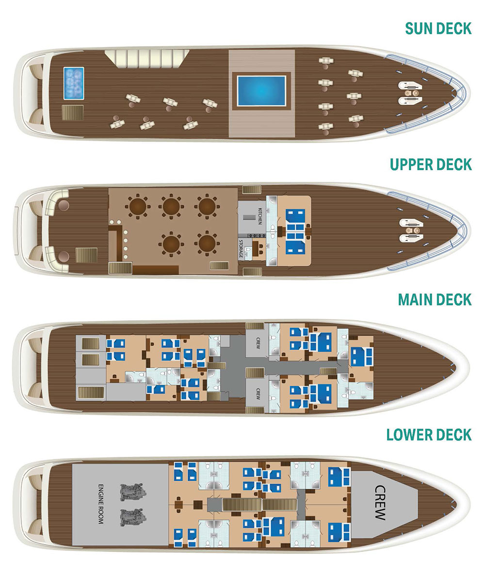 Cabin layout for New Star