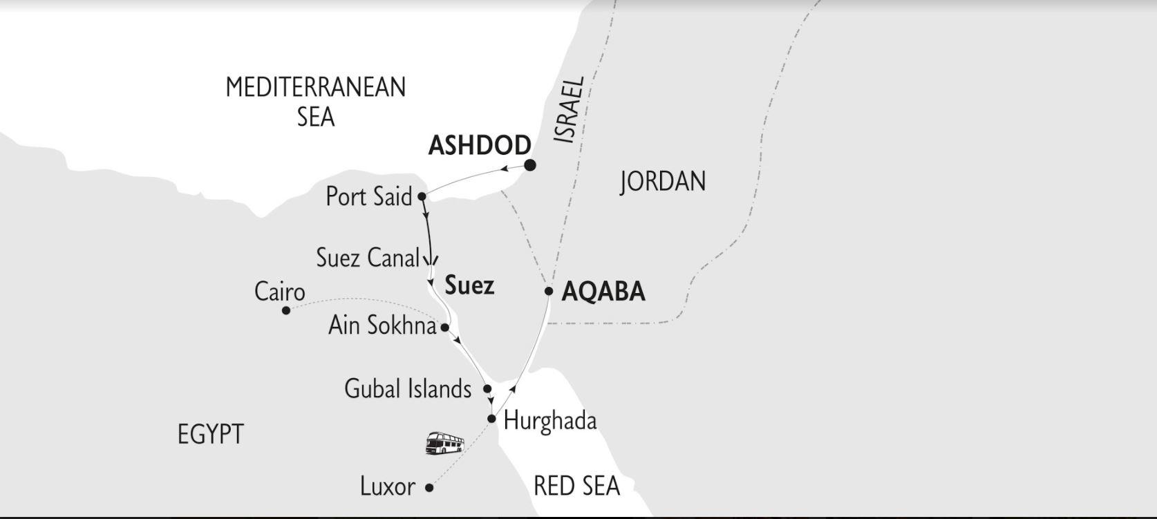 Map for Gods, Kings & Pharaohs (Harmony V)