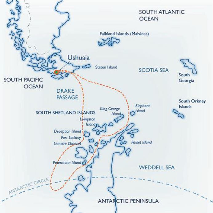 Map for Polar Circle Quest