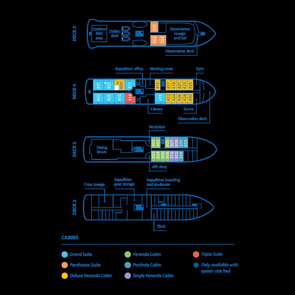 Magellan Explorer Deckplan