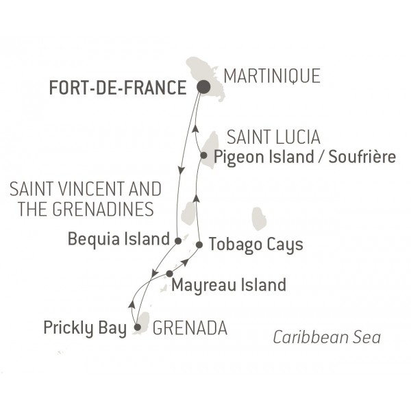 Map for In the Heart of the West Indies