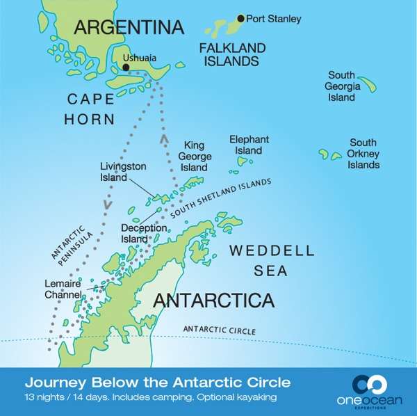 Journey Below the Antarctic Circle (RCGS Resolute)