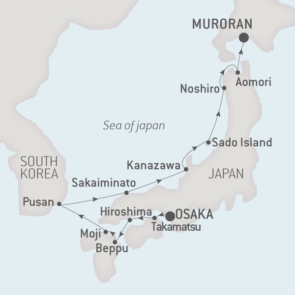Map for In The Heart Of Japan
