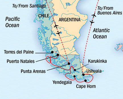 Argentina - cruise | The Small Cruise Ship Collection