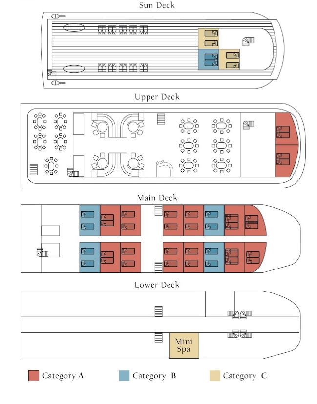 Cabin layout for Pegasos