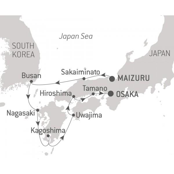 Map for Schubert & Schumann: Piano & Lieder in Japan