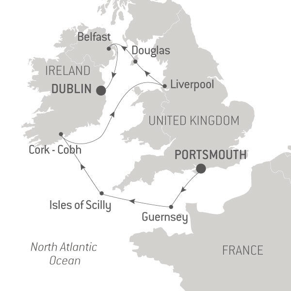 Map for In the Heart of the Celtic Sea