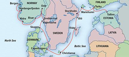 The Nordic Nations Norway Sweden Denmark  Finland