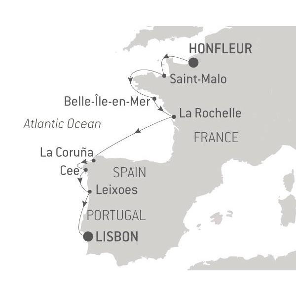 Map for Atlantic Shores (Le Dumont dUrville)