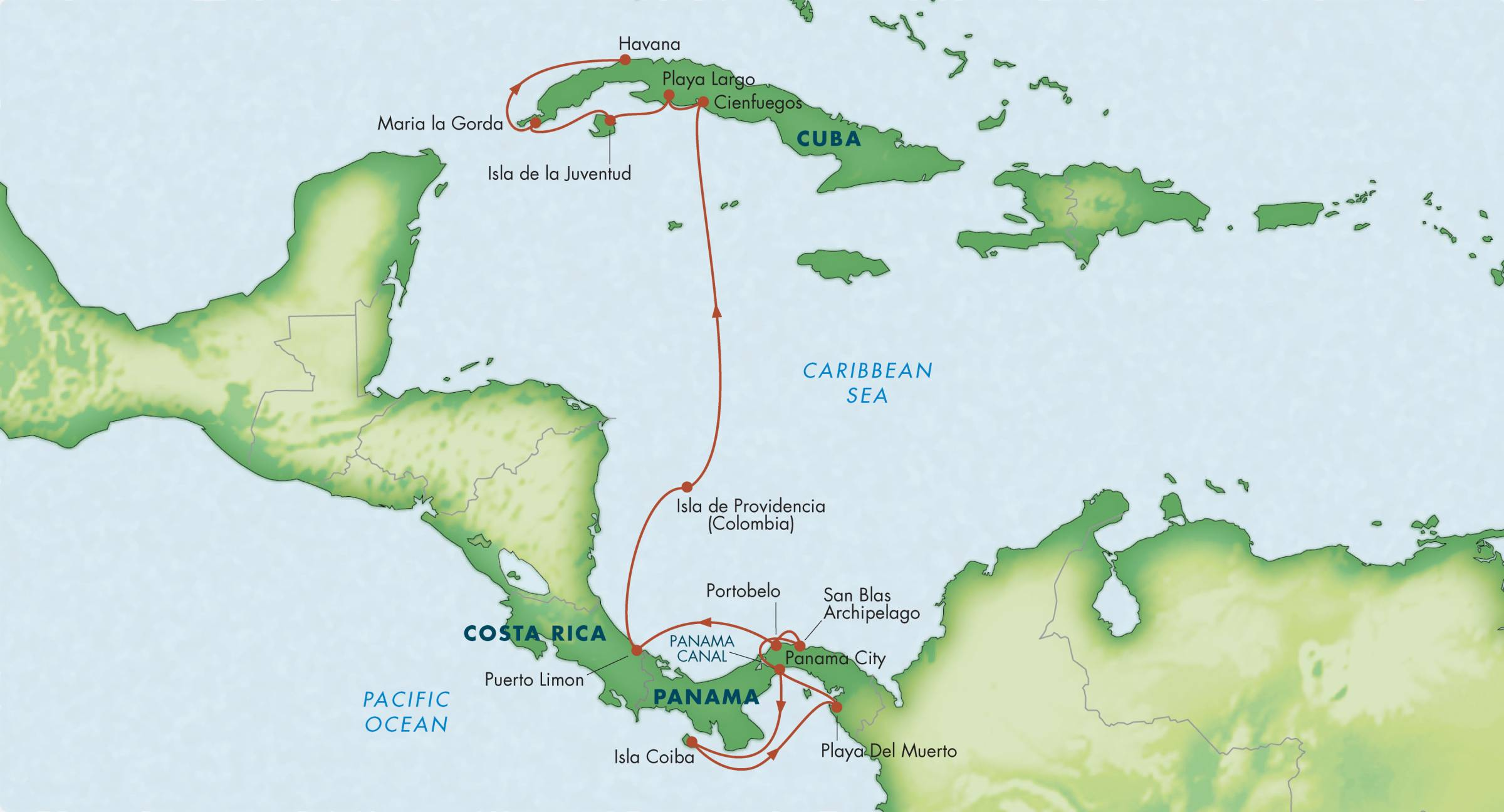 Canal to Cuba with Panama Costa Rica Colombia Wild Earth Travel