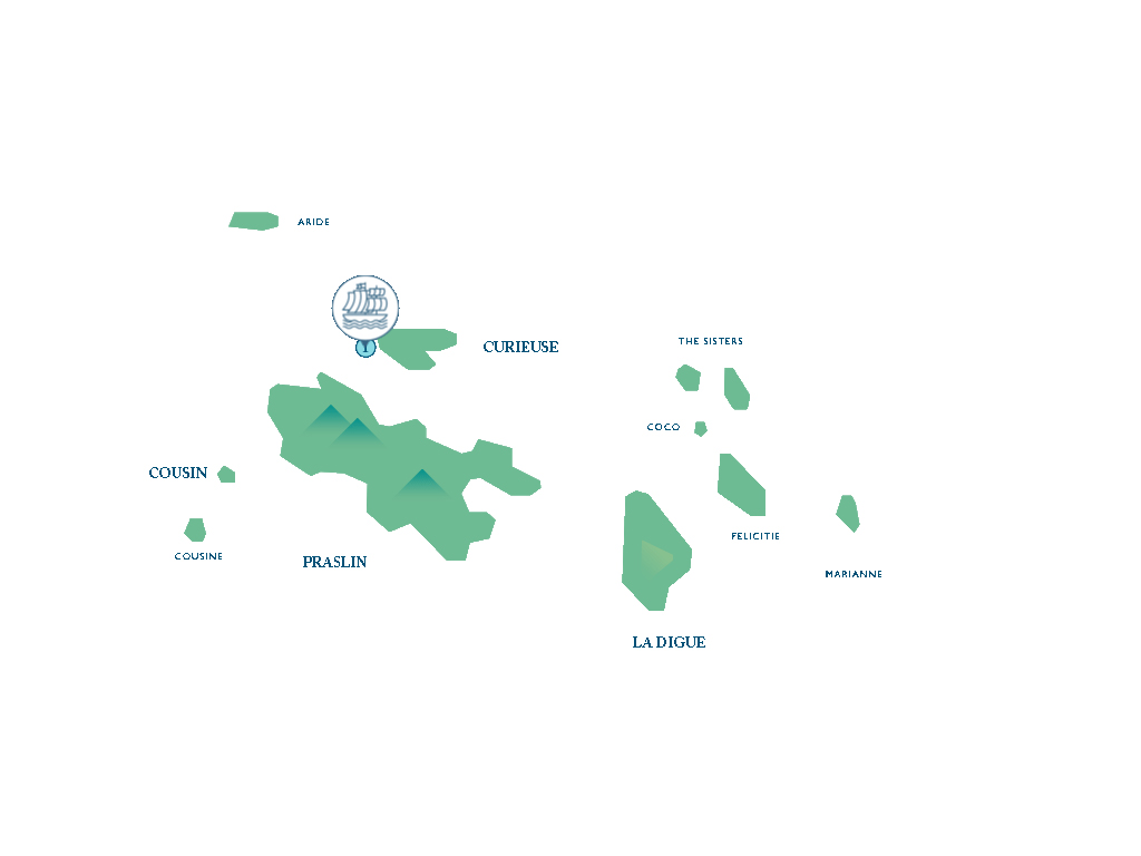 Map for The Seychelles Diving Safari