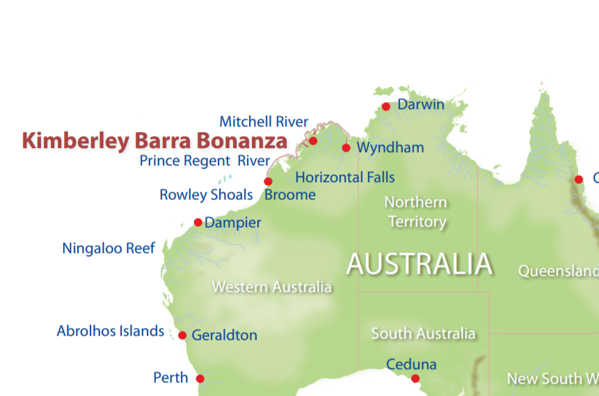 Kimberley Barra Bonanza South  Wild Earth Travel