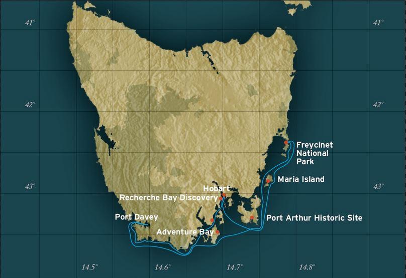 Tasmania Coastal Cruise Helping Dreamers Do