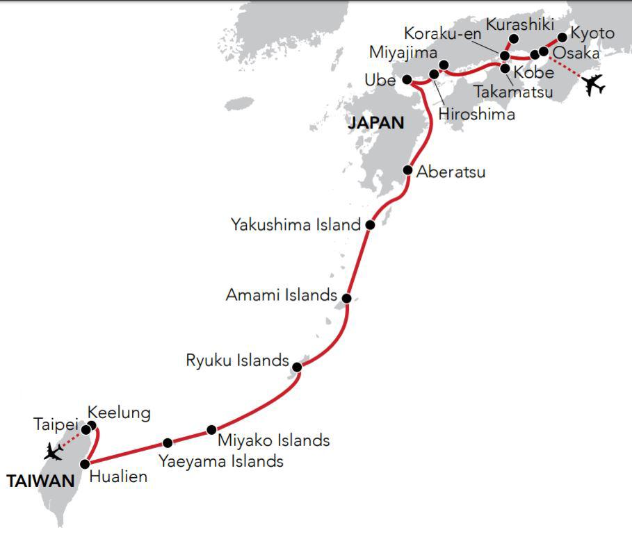 Island Realms Of Japan - Japan map yakushima