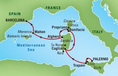 Сардиния италия где находится в